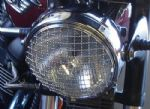 "Triumph Bonneville & Thruxton 7"" Headlamp Stainless Steel Stone Guard. New Stock!"
